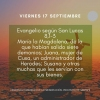 EVANGELIO DEL DÍA 17 SEPTIEMBRE